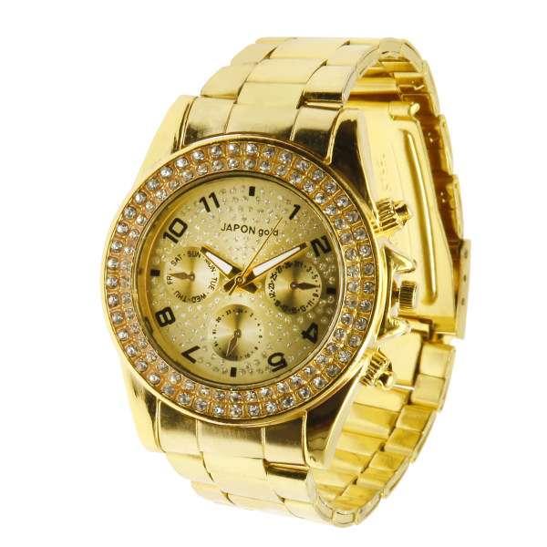 خرید 29 مدل بهترین ساعت مچی زنانه طلایی (شیک) سال 2020 + قیمت