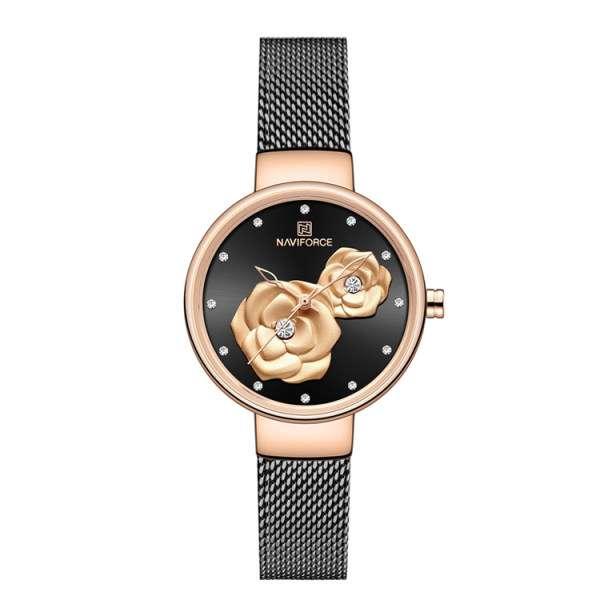قیمت 39 مدل بهترین ساعت نیوی فورس زنانه شیک + خرید