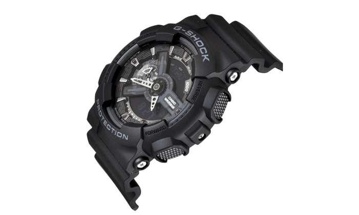 CASIO G SHOCK GA 110 1B 4 - بررسی دقیق ساعت کاسیو جی شاک CASIO G-SHOCK GA-110-1B + خرید ارزان