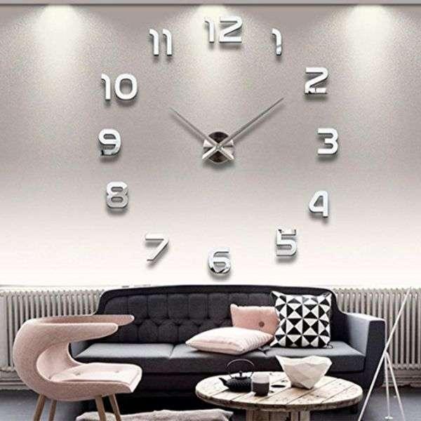 خرید 30 مدل ساعت دیواری آینه ای شیک و زیبا با کیفیت عالی + قیمت